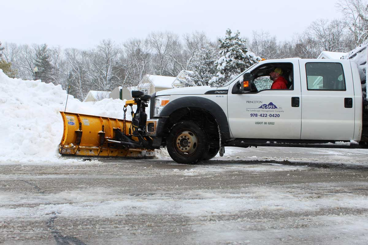commercial snow removal services sterling mass